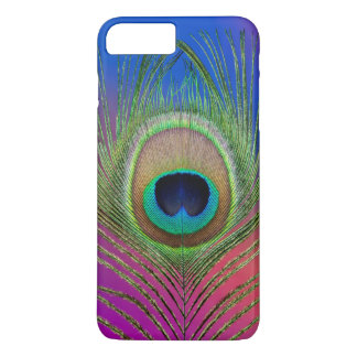 Tail feather of a peacock iPhone 7 plus case