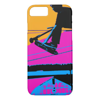 Tail Grabbing High Flying Scooter iPhone 7 Case