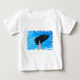 Tail of a Whale Baby T-Shirt