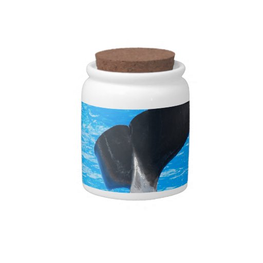 Tail of a Whale Candy Jar