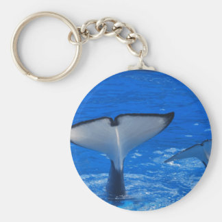 Tail of a Whale Keychain