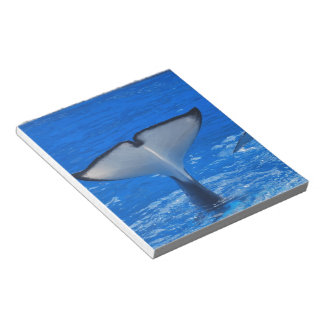 Tail of a Whale Notepad