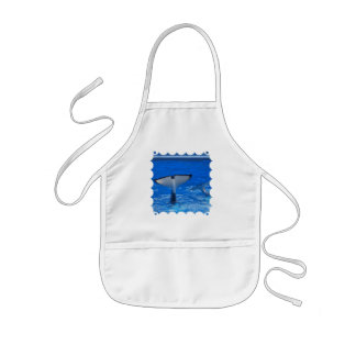 Tail of a Whale  Small Apron