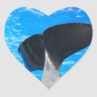 Tail of a Whale Stickers