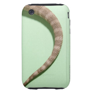 Tail of bearded dragon tough iPhone 3 case