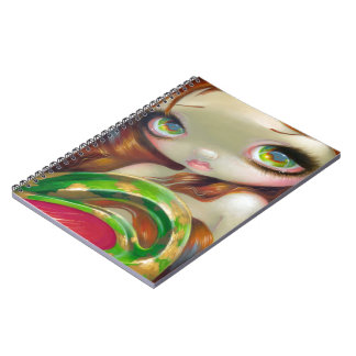 """Tail of Mossy Gold"" Notebook"