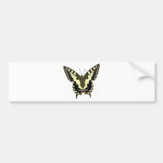 Tail-of-Swallow butterfly Car Bumper Sticker