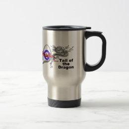 Tail Of The Dragon Travel Mug