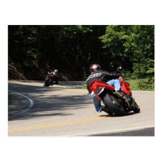 Tail of the Dragon, US129, 11 miles, 318 curves Postcard