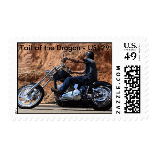 Tail of the Dragon - US129 Postage