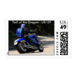 Tail of the Dragon - US129 Postage Stamp