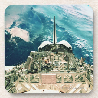 Tail Section of Space Shuttle Drink Coaster