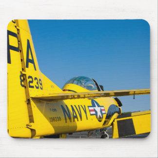 Tail Shot 138239 N726A T-28B Trojan mousepad