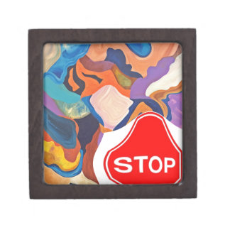 Tail Stop Sign Gift Box