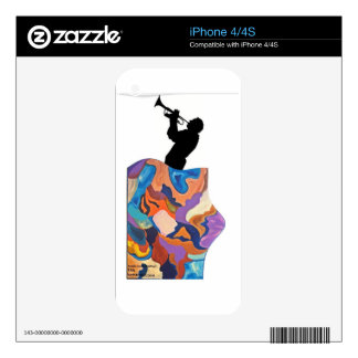 Tail Trombone Skin For The iPhone 4