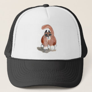 Tail Wag to the Left Trucker Hat