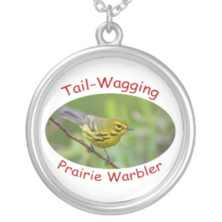 Tail-Wagging Silver Plated Necklace