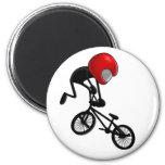 Tail Whip Pocket BMX Fridge Magnets
