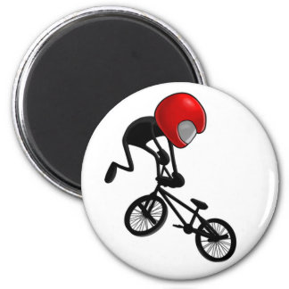 Tail Whip Pocket BMX 2 Inch Round Magnet