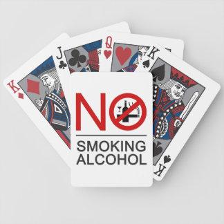 ⚠ tailandés de la muestra del ⚠ de no fumadores baraja de cartas bicycle