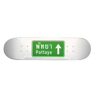 ⚠ tailandés de la señal de tráfico de la carretera patinetas personalizadas