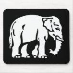 ⚠ tailandés de la señal de tráfico del ⚠ del elefa tapetes de raton