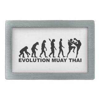 Tailandés de Muay de la evolución Hebilla Cinturón Rectangular