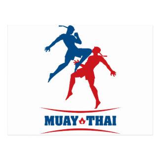 Tailandés de Muay Postal