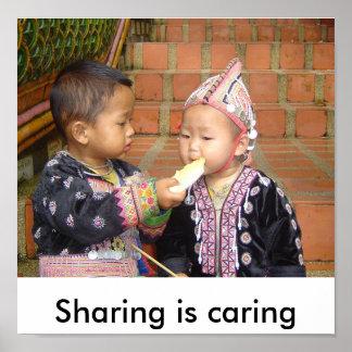 Tailandia 910, compartiendo está cuidando póster