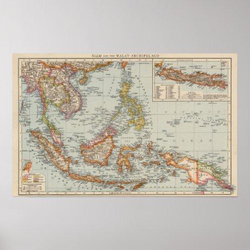 Tailandia, archipiélago de Malay Impresiones