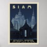 Tailandia - Bangkok hermosa Poster
