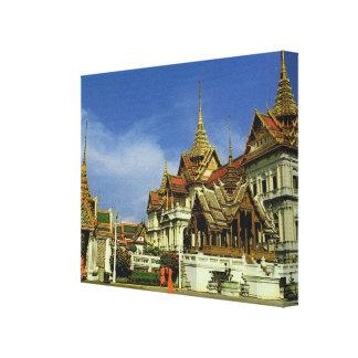 Tailandia, Bangkok, palacio magnífico Impresión En Lienzo