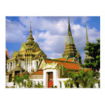 Tailandia, Bangkok Wat Phra Chetuphon Postal