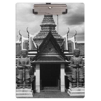 Tailandia Bangkok Wat Phra Kaeo 1970 embarazada