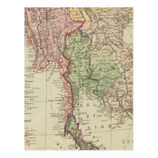 Tailandia, Birmania y Anam Tarjetas Postales