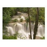 Tailandia, cascada de Huai Mae Khamin Postal