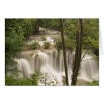 Tailandia, cascada de Huai Mae Khamin Felicitaciones