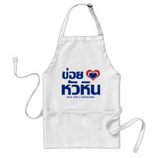 ❤ Tailandia de Khoi Hak amor de I Hua Hin Delantales