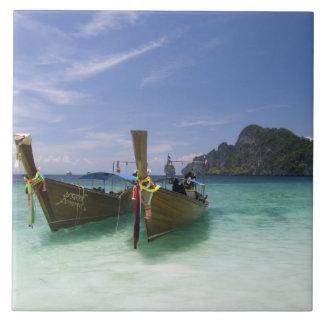 Tailandia, isla de Don de la phi de la phi, playa  Azulejo Cuadrado Grande