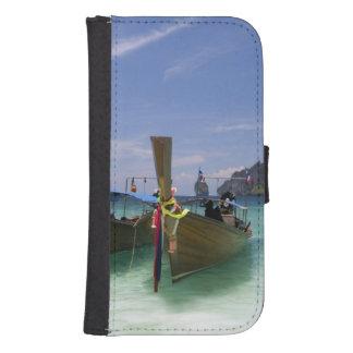 Tailandia, isla de Don de la phi de la phi, playa Fundas Tipo Billetera Para Galaxy S4