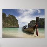 Tailandia, isla de la endecha de la phi de la phi, póster
