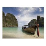 Tailandia, isla de la endecha de la phi de la phi, postales