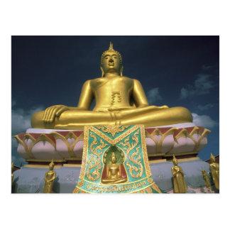 Tailandia, isla de Samui de la KOH. Buda grande Postales