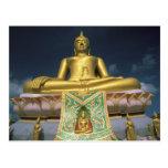 Tailandia, isla de Samui de la KOH. Buda grande Tarjeta Postal