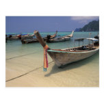 Tailandia, mar de Andaman, isla de la phi de la ph Tarjeta Postal