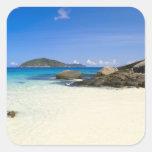 Tailandia, mar de Andaman. Isla Similan de Ko Calcomania Cuadradas Personalizada
