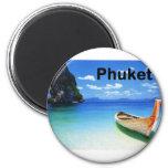 Tailandia Phuket (St.K) Imán Redondo 5 Cm