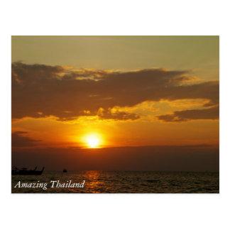 Tailandia que sorprende postales