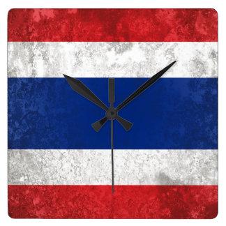 Tailandia Reloj Cuadrado