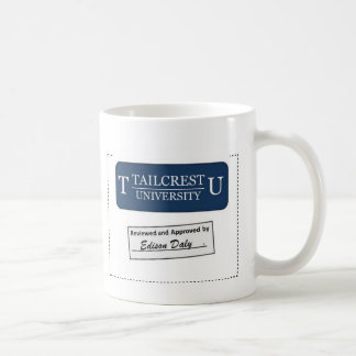 Tailcrest University (Blue) Coffee Mug